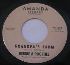 Debbie & Poochee - HEY Y'ALL 45  R&B Soul TEENER Amanda Records #101 RARE