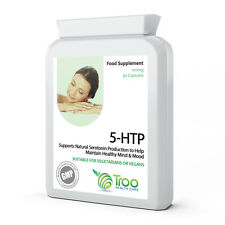 5HTP 5-hydroxytryptophan 100mg 90 Capsules Aide La Production Sérotonine Humeur