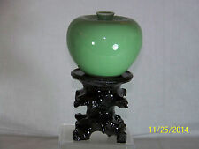 Chinese Qing Dy Kangxi Reign Mark Water Dropper Vase