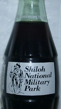 Shiloh Military Pk Civil War 100 Coca-Cola Coke Bottle