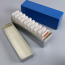 Silver Art Collection Storage Box for 20 Individual Certified Coins Gifts