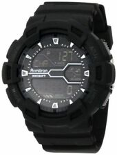 Armitron Men's Black Resin Watch, 100 Meter, Chronograph, 40/8246MBLK