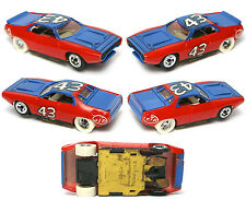 1972 TYCO Pro RICHARD PETTY PLYMOUTH ROAD RUNNER Slot Car STP 8107 VERY RARE A++