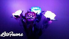 12 PCS Light-Up   Roses Valentine's Wedding Mothers Day Flashing led Gift