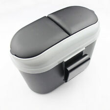 Auto Car Trash Rubbish Can Garbage Dust Dustbin Box Case Holder Bin Hook Black