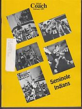 1997 Texas Coach Magazine February Seminole Indians 19270