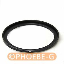 77mm-86mm 77-86 mm 77 to 86 Step Up Filter Ring Adapter