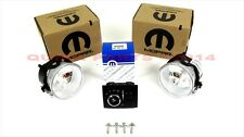 2014 Dodge Challenger SXT FOG LIGHT LAMPS KIT MOPAR GENUINE OEM BRAND NEW!