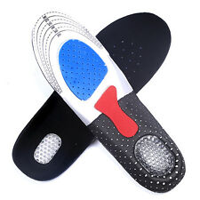 Man Gel Insoles Orthotic Sport Running Insert Shoe Pad Arch Support Heel Cushion