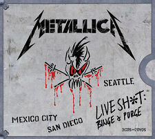 Live Shit: Binge & Purge - Metallica (2014, CD NEUF)5 DISC SET