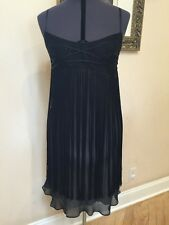 Max Studio Special Edition Flapper Style Dress Black Size Large