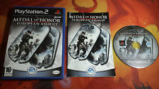 MEDAL OF HONOR EUROPEAN ASSAULT PLAYSTATION 2 PS2 ENVÍO 24/48H