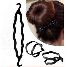 s! New Fashion Women 1pcs Hair Twist Styling Clip Stick Bun Maker Braid Tool Fkk