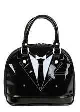 Black Butler Sebastian Michaelis Inspired Suit Patent Dome Bag New With Tags!