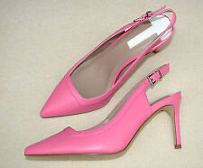 Women/Ladies Pink Leather Sandals from Dorothy Perkins size UK 6 ( wide fit).