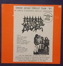 Morbid Angel - Crush Jesus Christ Tour 1991 LP/Vinyl (Metal Sammlung)