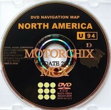 OEM TOYOTA NAVIGATION DVD VERSION 09.1 LEXUS GPS MAPS U94
