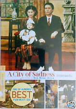 A City of Sadness DVD R0 (1989)  Tony Leung, Shu-fen Hsin, HK Taiwan Drama