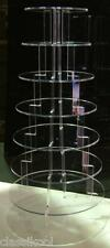 8 TIER ROUND CIRCLE FAIRY CUP CAKE SWEET STAND MINCE PIE 7
