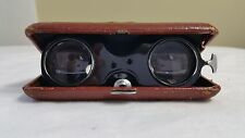 VINTAGE FOLDING BINOCULARS OPERA TRAVELERS GLASSES JAPAN JASON?