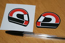 Simoncelli Helmet Stickers (pair)