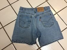 LEVI'S 550 Vintage RELAXED FIT Denim Jean Shorts Mens 31 W Made In USA !