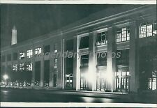 1938 Munitions Building of War Department in DC Original News Service Photo