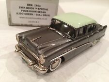 1/43 BROOKLIN 180A 1954 BUICK SPECIAL 4 DOOR SEDAN LIDO GREEN GULL GRAY