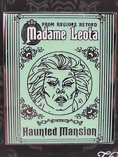 New Authentic 2014 Disney Haunted Mansion Madame Leota Glow in Dark Trading Pin