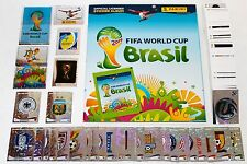 Panini WC WM 2014 BRASIL Brasilien – KOMPLETT SET ALLE STICKER + ALBUM INT. ED.
