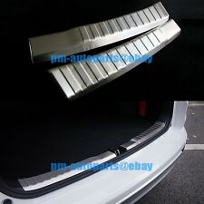 PM 304 Steel Rear Door Bumper Protector Sill Plate Cover Trim For Honda CRV 2014