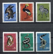 33489) BULGARIA 1968 MNH** Animals 6v Scott #1689/94