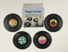 Coasters ~ Set of 4 ~ RECORD Design ~ Drinks Mat