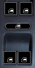 2004 – 2009 Volkswagen Jetta Passat Window Control Switch Decals
