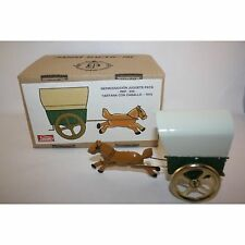 PAYA WAGON WITH HORSE TIN TOY MINT IN BOX LIMITED EDITION RARE