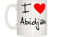 I Love Heart Abidjan Mug