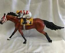Breyer Galleries Porcelain Quarter Horse Race Horse Refrigerator w/Kip Dickerson