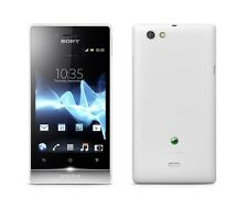 Sony Xperia Miro ST23i White WiFi 5MP 4GB without Simlock new