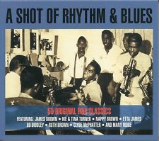 A SHOT OF RHYTHM & BLUES - 2 CD BOX SET - R&B CLASSICS, JAMES BROWN & MORE