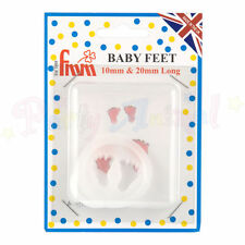 FMM Sugarcraft- Baby Feet Cutter - Set of 2 - christening cake fondant cutters