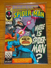 SPIDERMAN SPECTACULAR #117 VOL1 MARVE MISSING IN ACTION AUGUST 1986
