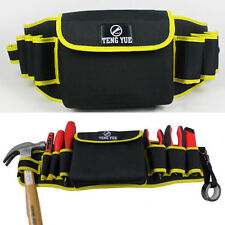 Multifunction Waist Belt Bag Combo Tools Pouch Pocket Thicked Electricians Tool