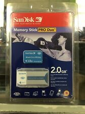 SanDisk 2GB Memory Stick Pro Duo With Adapter