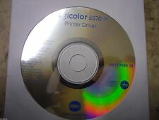 New ! Genuine Konica Minolta Magicolor 5570 Printer CD Software Driver Utilities
