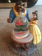 Walt Disney Snow Globe Beauty And The beast