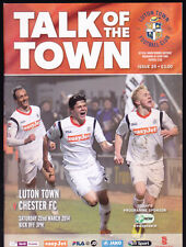 2013/14 LUTON TOWN V CHESTER FC 22-03-2014  The Skrill Premier