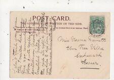 Miss Verena Barnett Elm Tree Villa Carharrack Scorrier 1904   787a