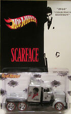 "Hot Wheels CUSTOM LONG GONE ""Scarface"" Real Riders Limited Edition 1/5 Made!"