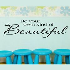 14*51cm Be your own of Removable Vinyl Quote Home Wall Sticker Decal Mural Décor