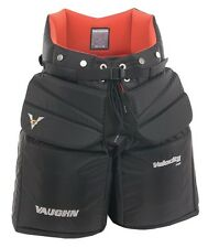 "New Vaughn 7460 ice hockey goalie goal pants pant senior sr size 38"" large black"